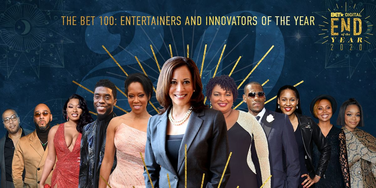 BET 100:  Entertainers and Innovators of the Year