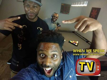 Jermel Howard with When We Speak TV