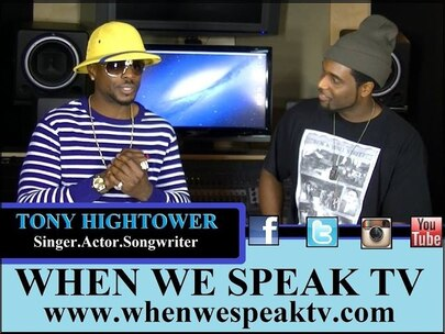 Tony Hightower from Madea Plays Speaks with Jermaine Sain of When We Speak TV