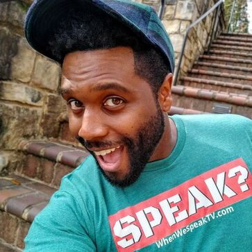 Jermaine Sain of When We Speak TV