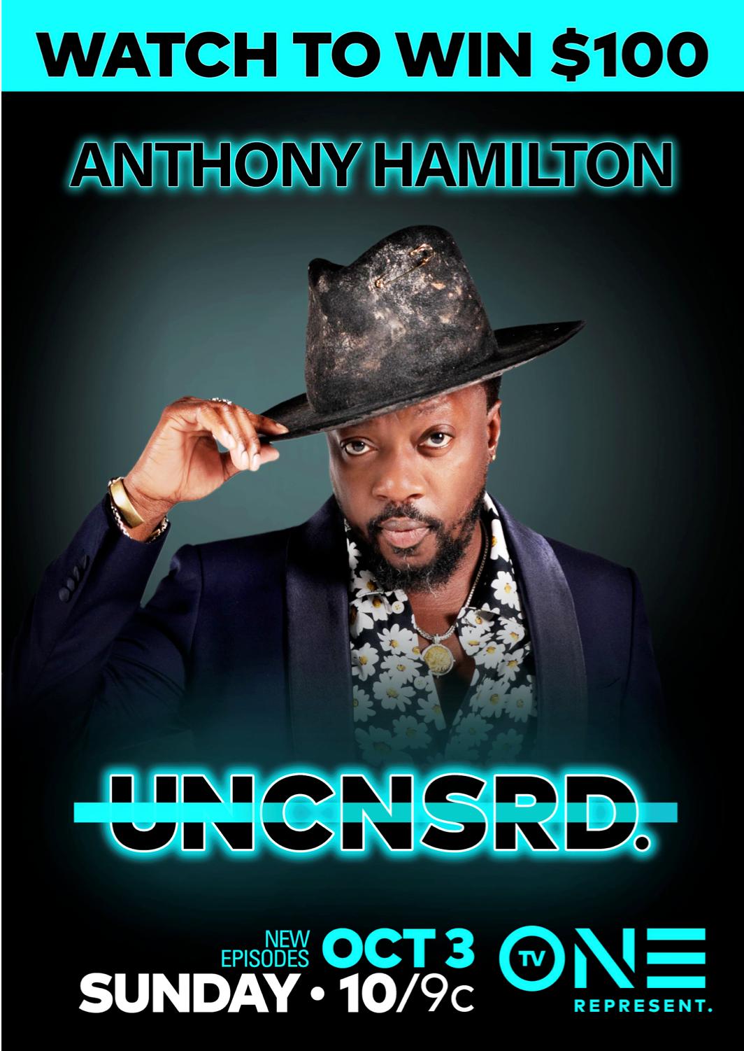 Anthony Hamilton TV One Uncensored