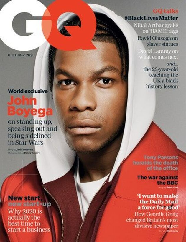 John Boyega British GQ Cover