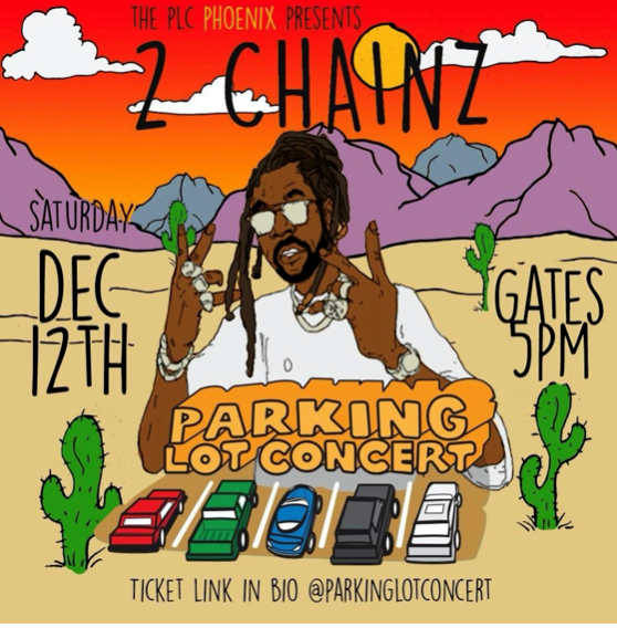2 Chainz Parking Lot Concert