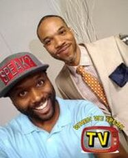 James Bronner of Bronner Brothers Hairs Show and Jermaine Sain of When We Speak TV