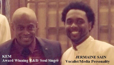 Singer Kem and Jermaine Sain