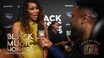Gospel singer, Yolanda Adams, shares a message of encouragement to Jermaine Sain and When We Speak TV!!!