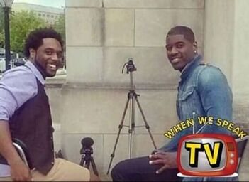 Actor Terrell Carter and Jermaine Sain