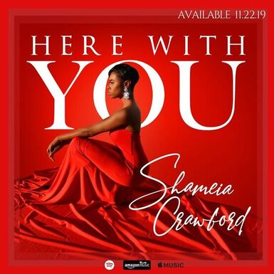 Here with You by Shameia Crawford