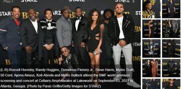 STARZ original BMF Celebrates New Season with Star-Studded Red Carpet Screening
