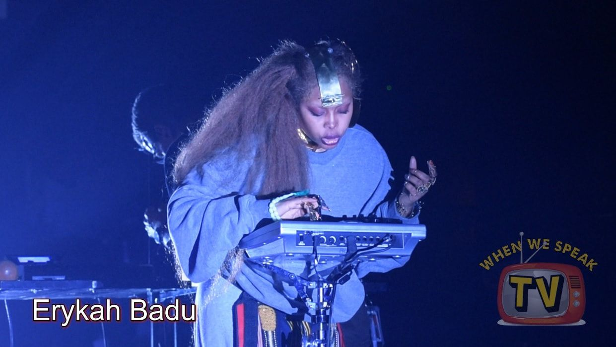 Erykah Badu Performing at Riverfront Jazz Festival