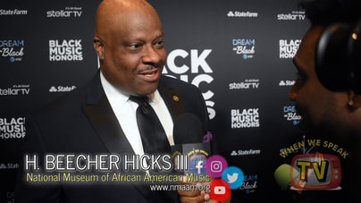 National Museum of African American Music President speaks with Jermaine Sain of When We Speak TV